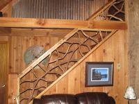 Handmade Mountain Laurel Interior Railing With Distressed ...