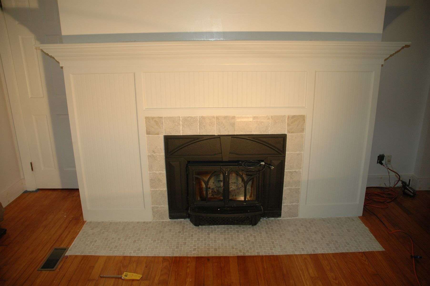 Fireplace Design Dimensions Handmade Custom Fireplace Surround & Tile Remodel By