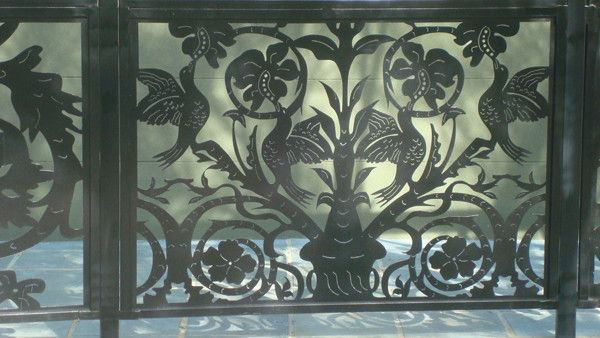 buy custom made patio fence panel on