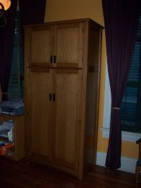 Custom Made Mission-Style Gun Safe Cabinet by Cibolo ...