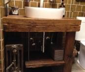 rustic bathroom vanity units
