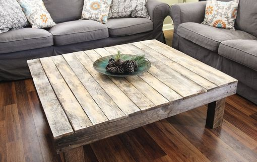 Buy a Custom Made The Original Farmhouse Reclaimed Wood Coffee Table made to order from Yonder