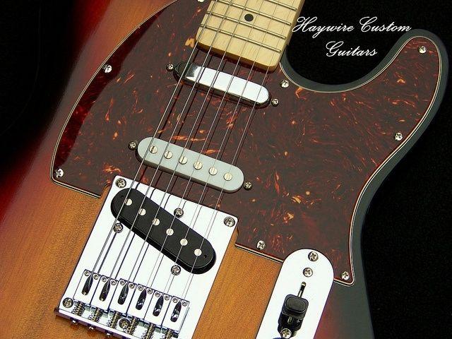 Industrial Wiring Diagrams Hand Made Haywire Custom Guitars Sunburst Nashville