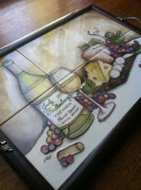 Custom Made Ceramic Tile Serving Tray by The Clay Palette ...