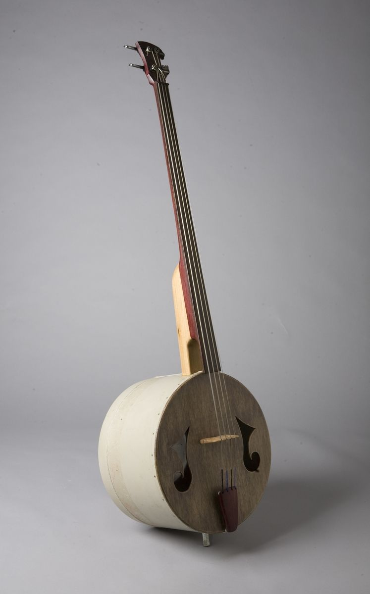 Hand Crafted Upright Bass By JJ Savage Ceramics
