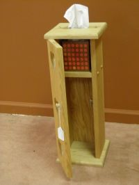Custom Made Toilet Paper And Tissue Holder by Windy Woods ...