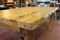Handmade Large Harvest Table by Red Springs Lumber ...
