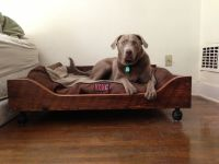 Handmade Custom Sized Dog Bed by Woodgrain Designs ...