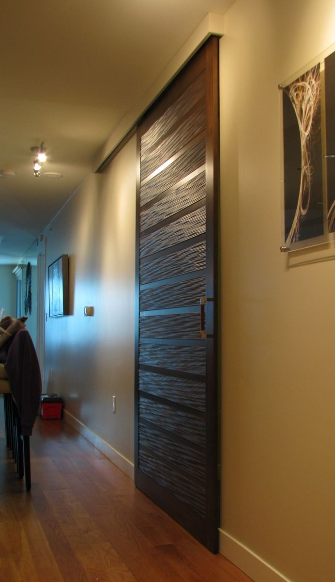 Custom Made Contemporary Sliding Barn Door By Heartwood