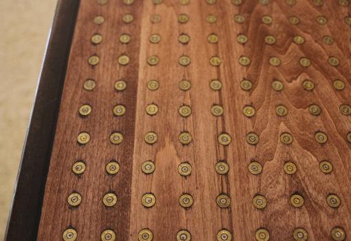 Custom 9mm Bullet Table By Wartooth Workbooth