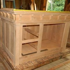 Farmhouse Style Kitchen Islands Exhaust Fan Commercial Handmade Arts And Crafts Island By Paul's ...