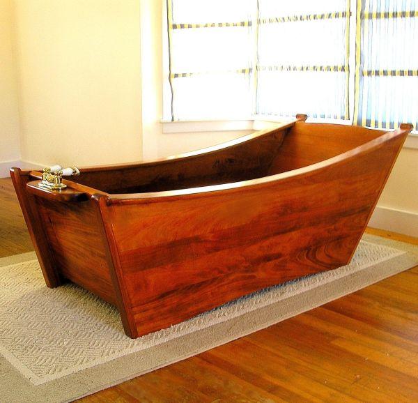 Wood Wooden Tub Bathtubs
