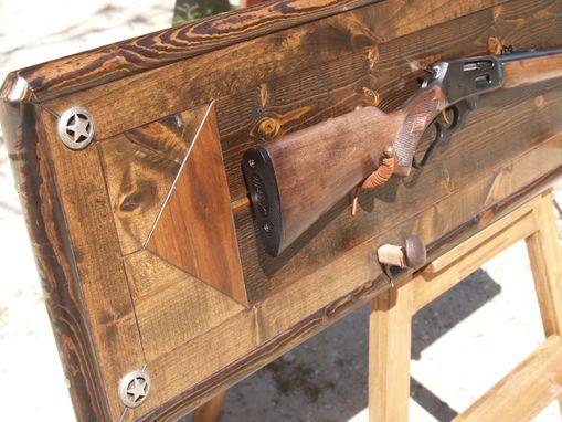 Custom Gun Rack by Art Of Wood  CustomMadecom