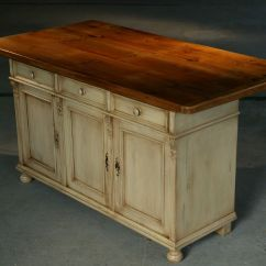 Kitchen Island And Table Best Cleaner For Cabinets Custom Furniture European Sideboard Base