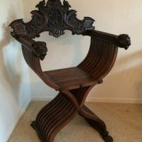 Custom Hand Carved Tree Chair by Boot Wood Artisan ...