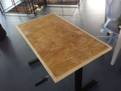 Hand Made Oriented Strand Board Osb Desktops 2X4 by M