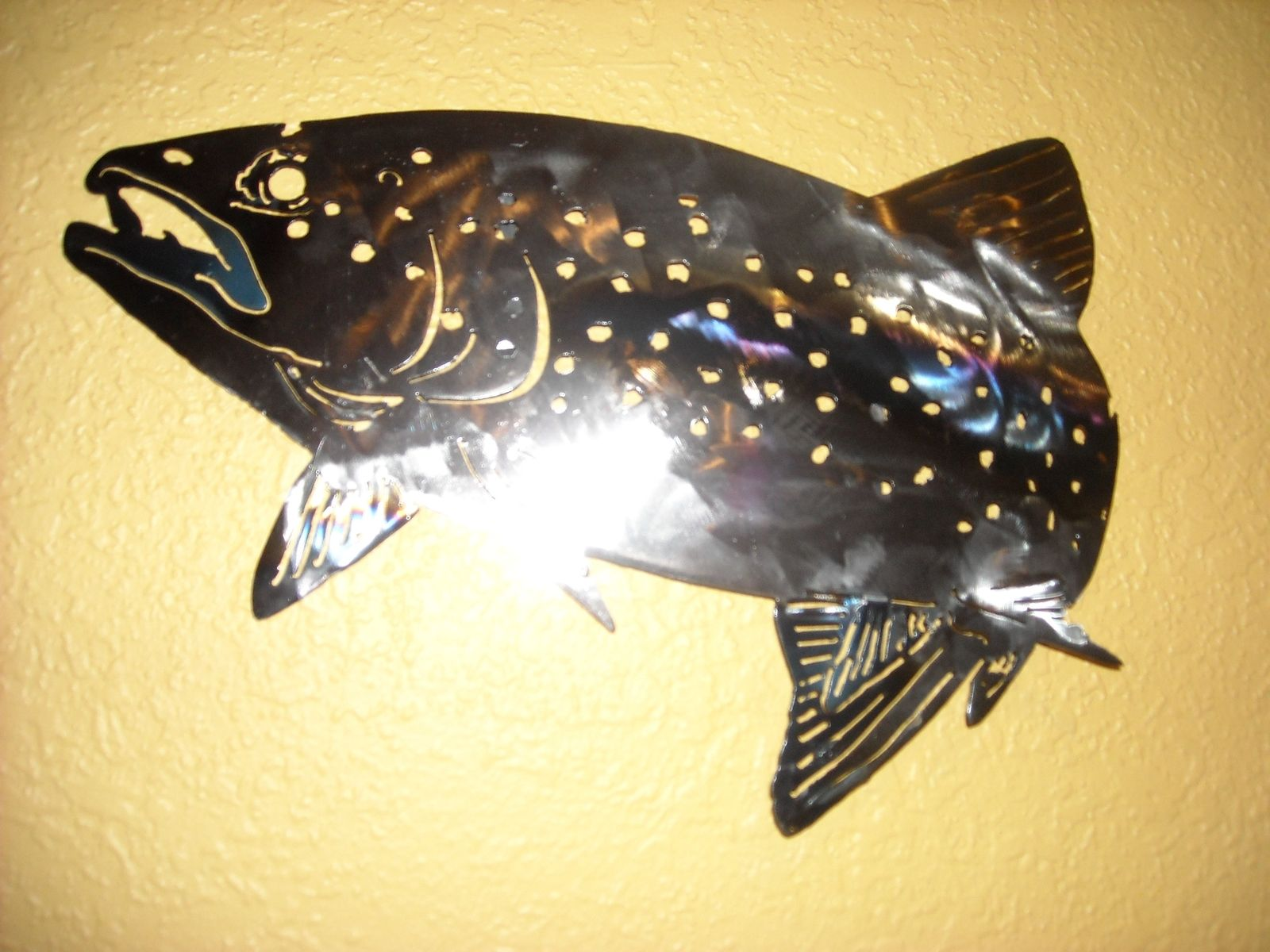 Custom Rainbow Trout Wall Art By Superior Iron Artz Llc