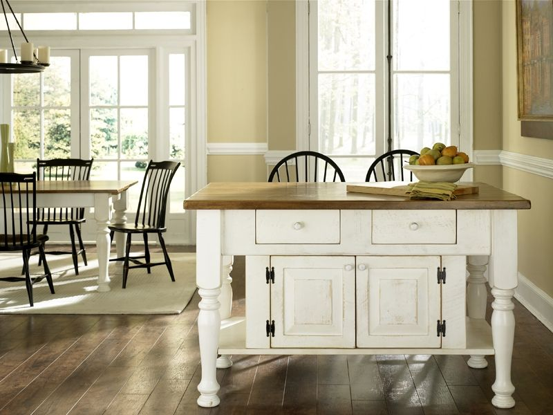 Buy A Handmade Pine Kitchen Island Made To Order From