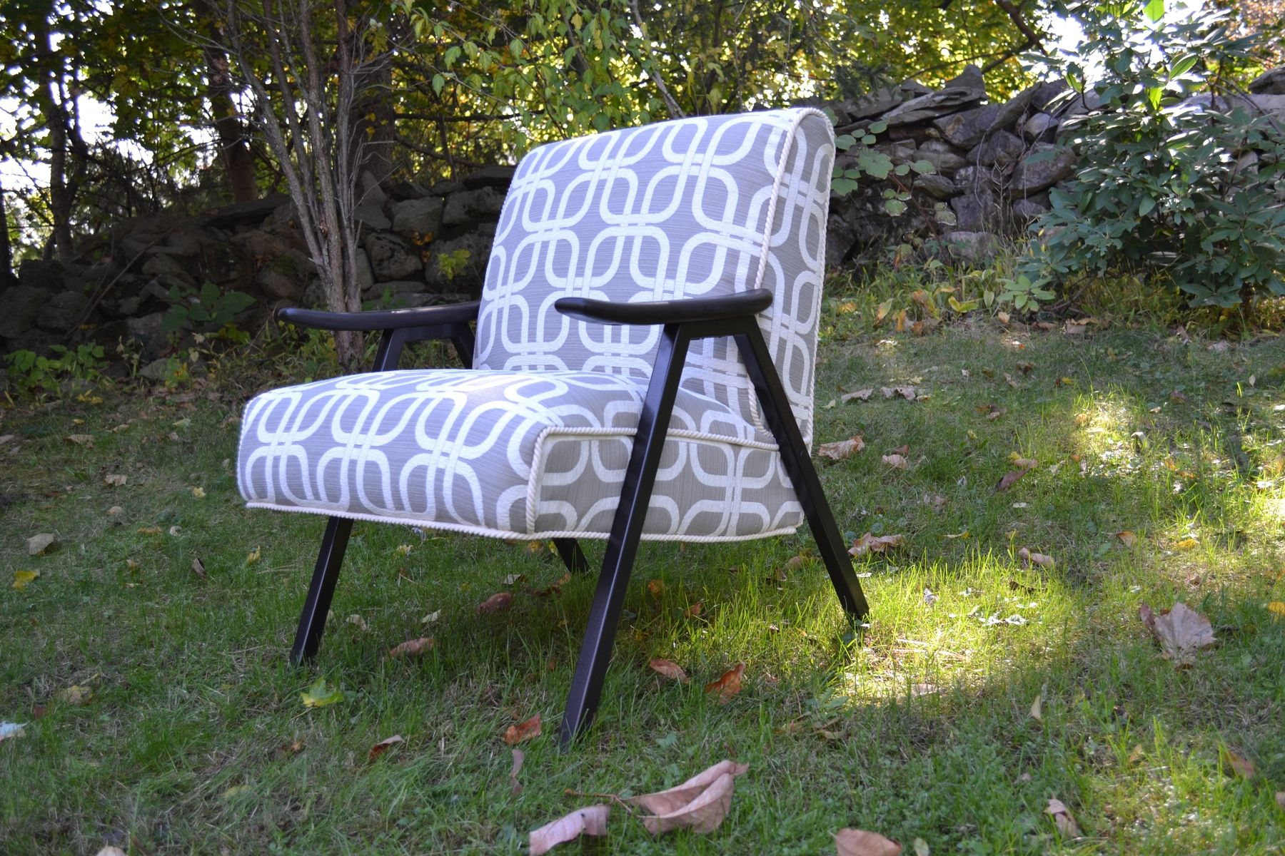 upholstery fabrics for chairs the unusual chair company rogate hand made vintage mid century modern accent fully