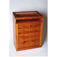 Hand Made Mineral Display & Storage Cabinet by West Creek