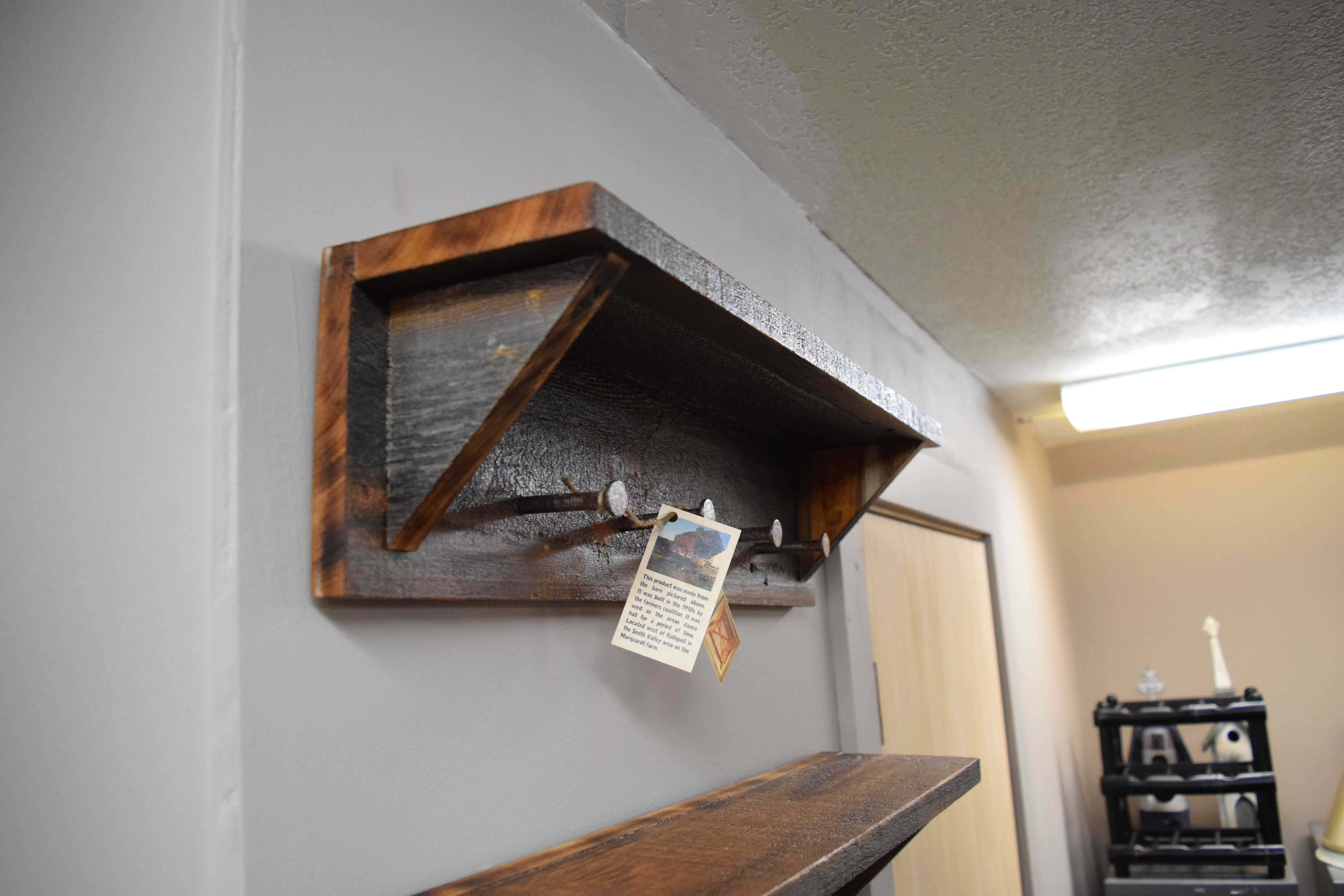 Buy a Handmade Barn Wood Coat Rack, made to order from