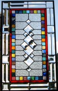 Custom Made Traditional Stained Glass Window/Panel by ...
