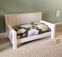 Custom Dog Bed Or Toddler Bench by Furnish Me ...