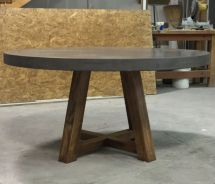 Hand Crafted Concrete Dining Table 910 Castings