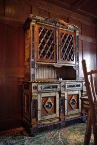 Custom Made Adirondack Rustic Cabinet by L. Post Rustics ...