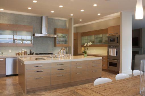 Handmade Rift Sawn White Oak Modern Cabinetry by