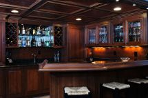 Custom Basement Bar Ideas