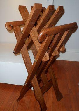Custom Medieval Folding Chair By Hans Droog