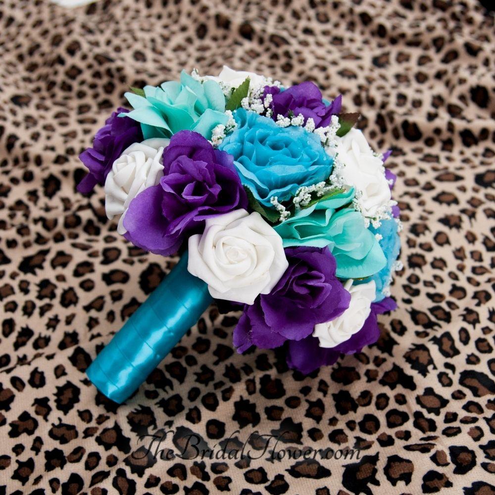 Hand Made Purple Turquoise And Aqua TealTiffany Blue