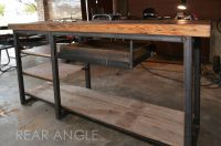 Handmade Industrial Work Desk by AUSTIN RETRO DESIGN