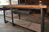 Handmade Industrial Work Desk by AUSTIN RETRO DESIGN