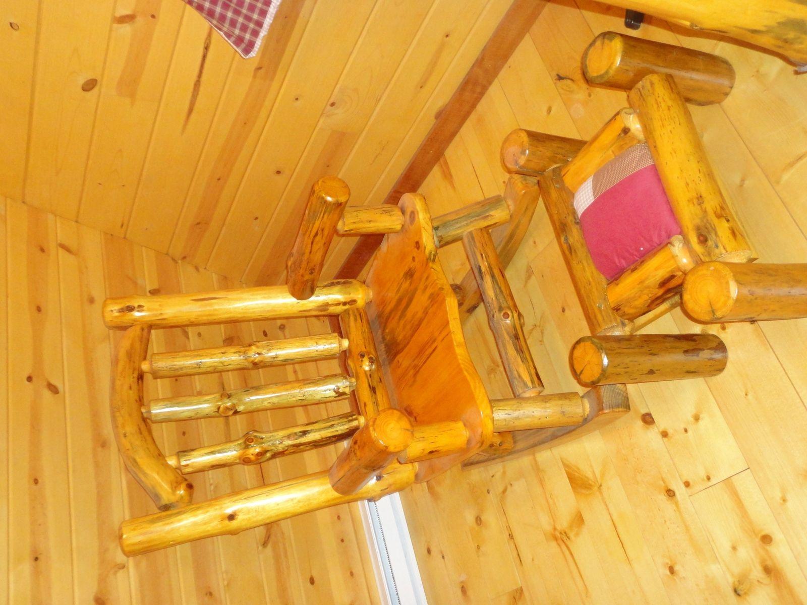 rocking chairs nursery ireland cane back chair custom made rustic pine by legacy woodshop