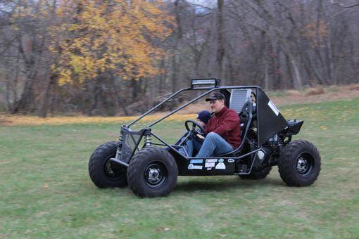Hand Made Custom Monster Go Kart By Little Enterprises LLC