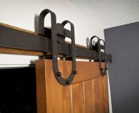 Custom Interior Barn Door Hardware: Western Track ...