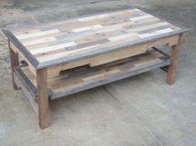 Handmade Reclaimed Pallet Wood Coffee Table