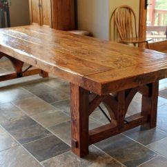 Wood Table Kitchen Counter Height Chairs Dining And Tables Farmhouse Industrial Modern By Christian Hartman Cionnaith O Dubhaigh