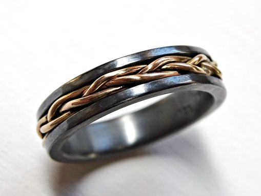 Buy A Hand Crafted Mens Viking Wedding Band Celtic