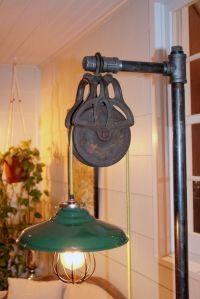 Handmade Vintage Industrial Floor Lamp