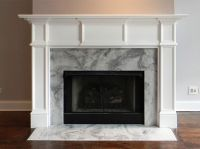Custom Modern Chicago Wood Mantel by Accolade Fireplace ...