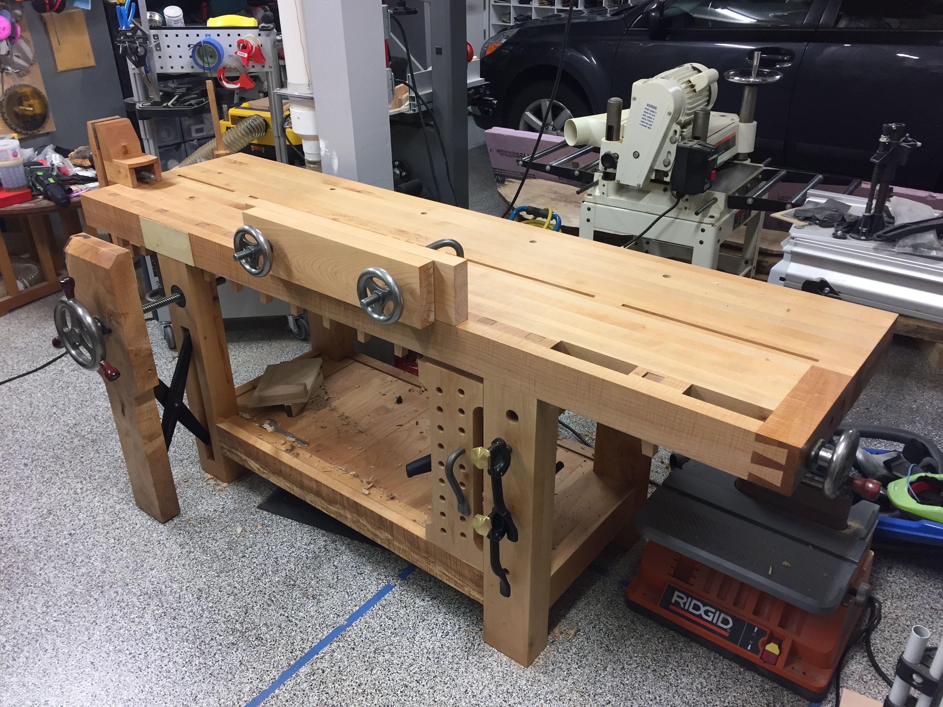 Workbench Leg Vise Hardware