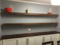 Handmade Custom Floating Shelves by Built Custom Carpentry ...