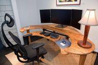 Handmade Custom Computer Desk by Keaau Fine Art ...