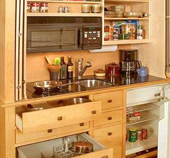 kitchen armoire table lights handmade mini by yestertec design company