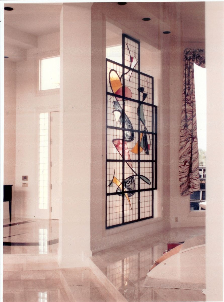 Custom Stained Glass Partitions With The Wow Factor by Art Glass Environments Inc