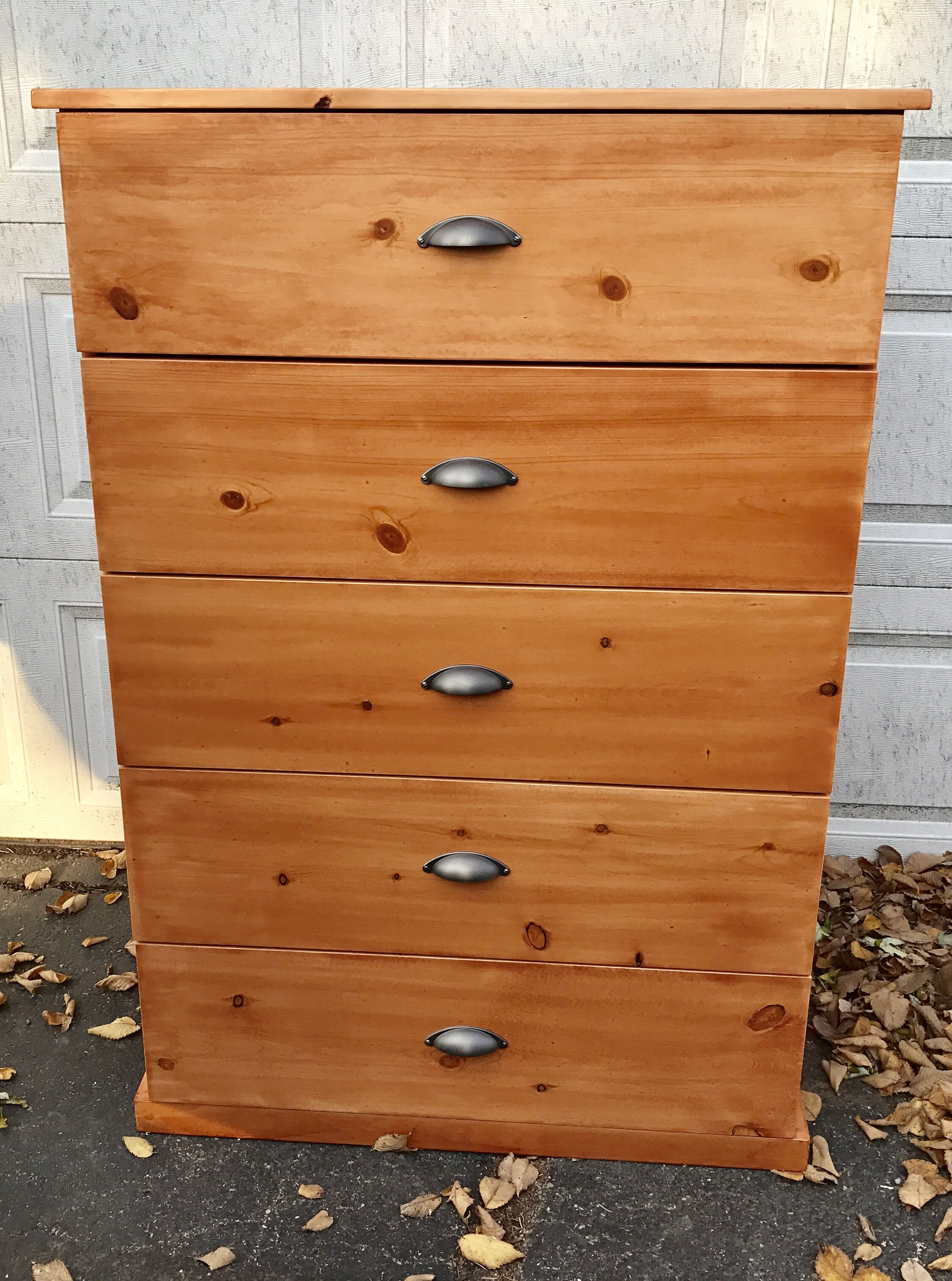 Handmade Knotty Pine Dresser by TimberForge Designs