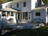 Custom Made Deck And Exterior French Doors by Wooden ...